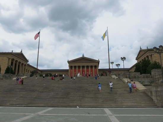 Philadelphia Museum of Art: Museum's front steps