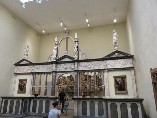Philadelphia Museum of Art: Choir Screen from the Chapel of the Chateau of Pagny
