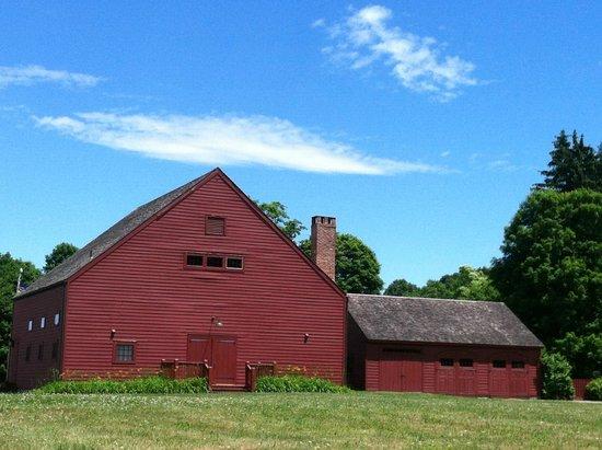 Old Stone Farm: Yoga Barn blue