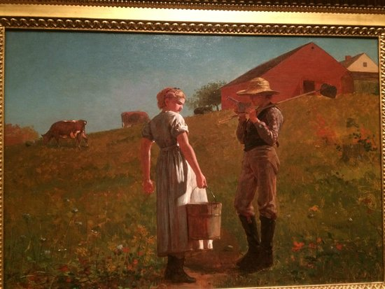 Philadelphia Museum of Art: Winslow Homer, A Temperence Meeting