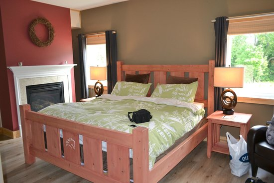 Mountain Horse Farm B&B and Wellness Retreat: Friesien room