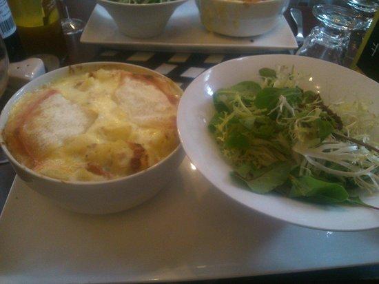 Thelma et Louise : Tartiflette et sa salade