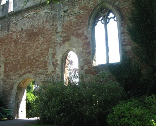 The Bishop's Palace and Gardens: cool windows