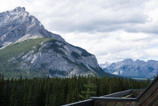 Inns Of Banff: View from my verandah on C-block