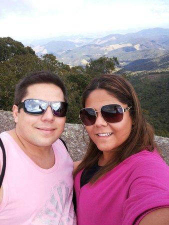 Pedra Redonda: Vista linda!
