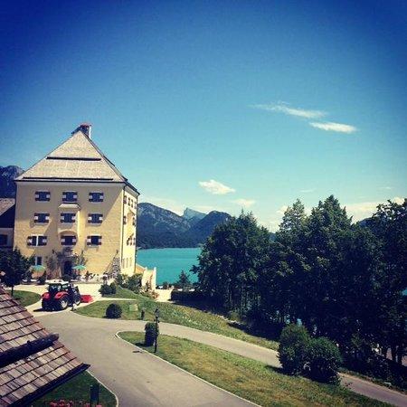 Schloss Fuschl Resort & Spa, Fuschlsee-Salzburg: View upon arrival