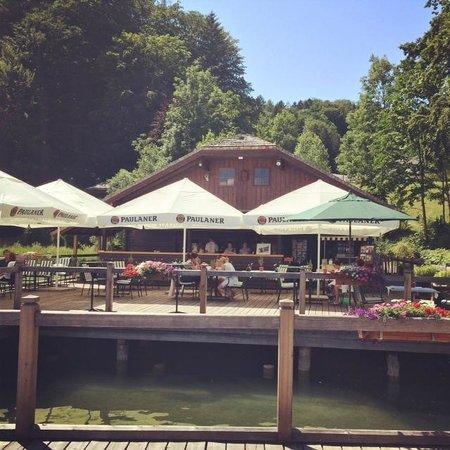 Schloss Fuschl A Luxury Collection Resort & Spa, Fuschlsee-Salzburg: Lakeside bar