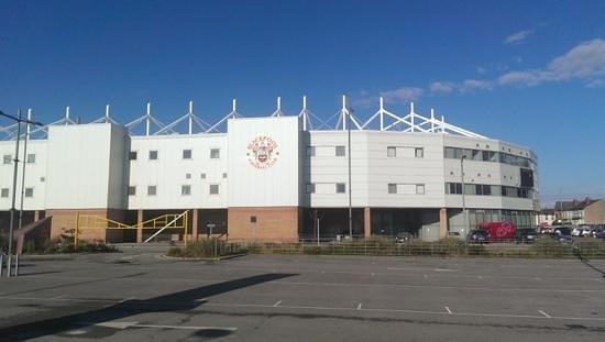 Blackpool FC Hotel: Her er stadion som hotellet er en del av.