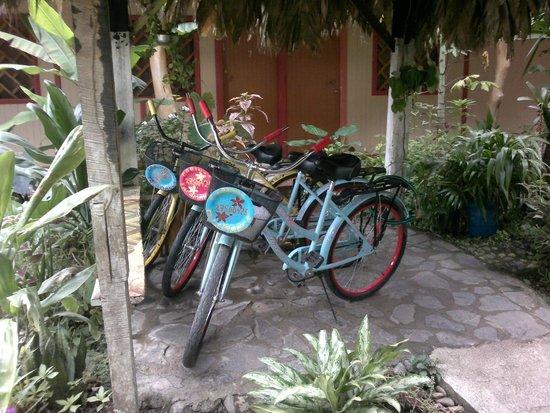 Cabinas Talamanca: Fahrräder