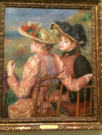 Philadelphia Museum of Art: Renoir, Two Girls