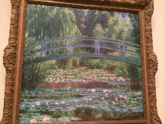 Philadelphia Museum of Art: Monet, Japanese Footbridge and the water lily pool, Giverny
