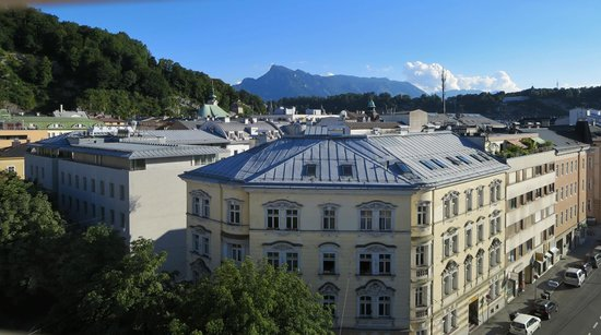 Hotel Mozart : View from the top