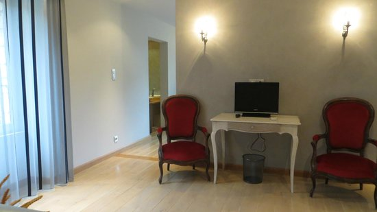 Hotel La Belle Etoile: The sitting area