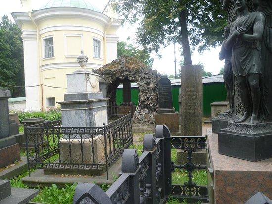 Holy Trinity Alexander Nevskiy' Lavra : Monastero S.Alexander Nevsky - Cimitero monumentale