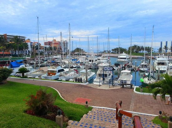 El Cid Marina Beach Hotel: Marina View