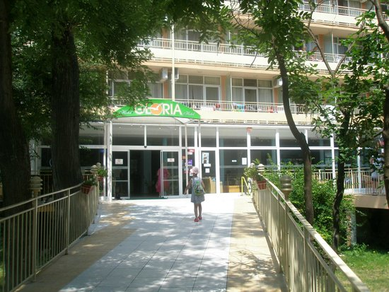 Gloria Hotel : Вход в Глорию