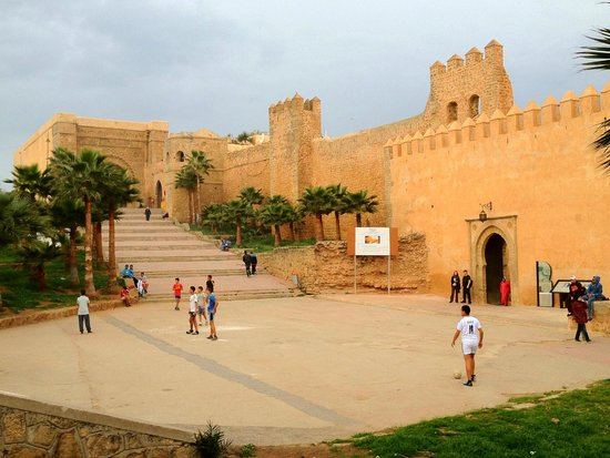 Rabat, Marruecos: Outside the Kasbah