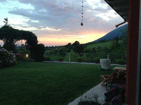 B&B Poggio Caiar : Sight from the breakfast/wine/chillout area
