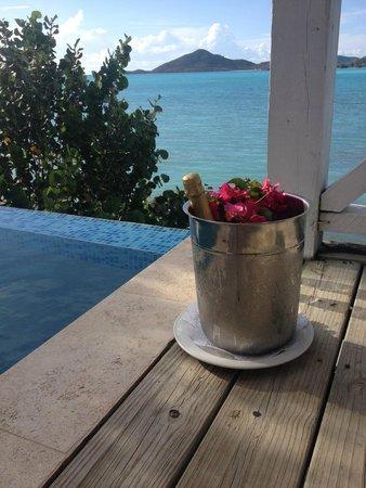 Cocobay Resort: champagne di benvenuto