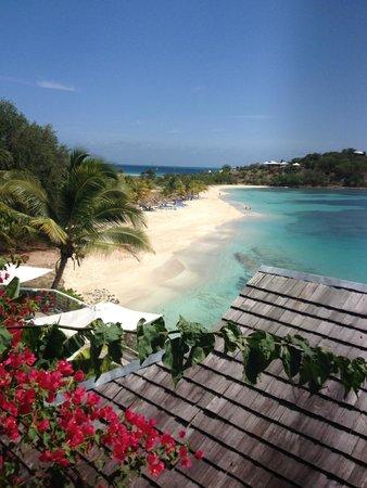 Cocobay Resort: vista dalla sala da pranzo