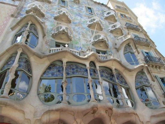 Casa Batlló: Esterno
