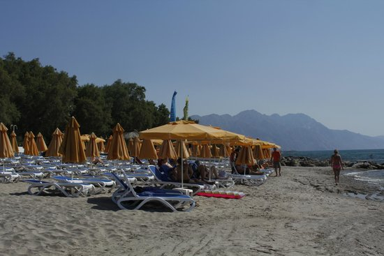 Lagas Aegean Village: The beach 2