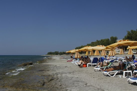 Lagas Aegean Village: The beach