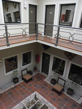 Hotel Patios de Lerma: Patio interno