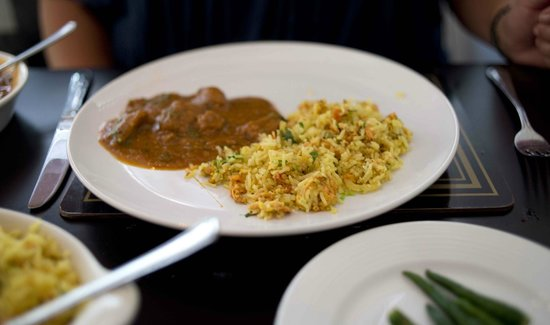 Bay of Bengal: Lamb Curry and egg rice
