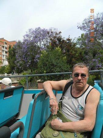 Barcelona Bus Turistic: над нами-только небо!