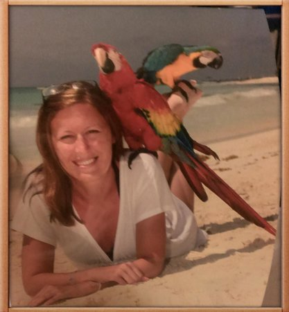 Catalonia Royal Tulum: Just me and the parrots