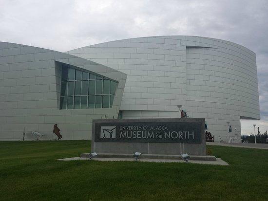 University of Alaska Museum of the North: Prédio do museu, muito moderno!