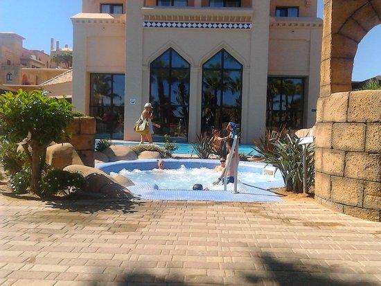Playacanela Hotel: JACUZZY