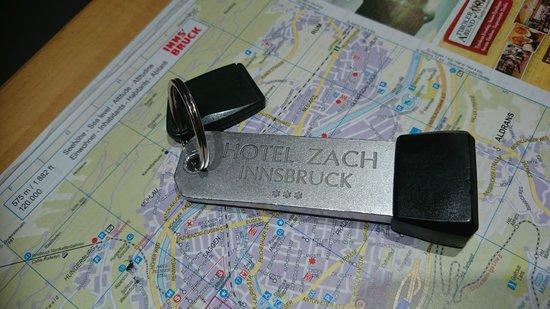 Hotel Zach: Hotel key