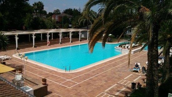 Hotel Jerez & Spa: Vista desde la terraza de nuestra habitación
