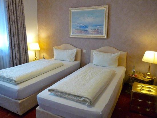 Hotel Geissler: Doppelzimmer getrennte Betten