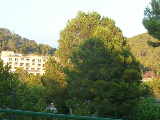 Hotel Villa Real: view from balcony
