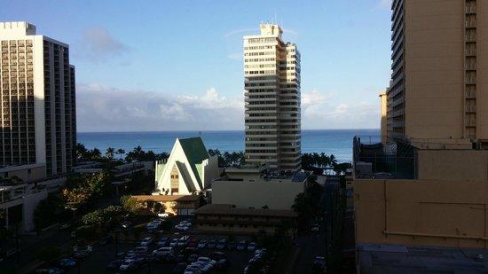 Hilton Waikiki Beach: View From Room