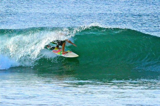 Las Plumerias Lodge and Surf: Fun Waves