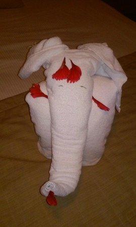 Meliá Caribe Tropical: Towel Surprise!