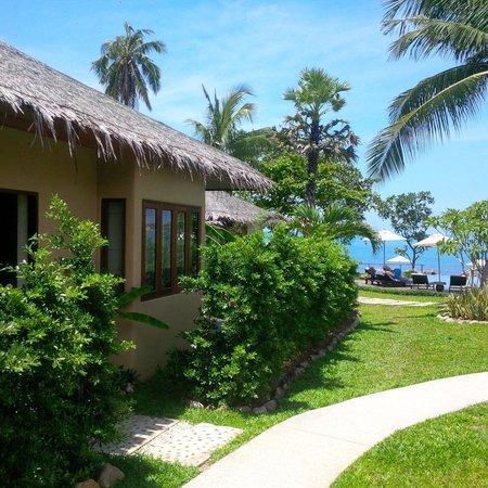 Sea Dance Resort: Ingresso villa numero 2