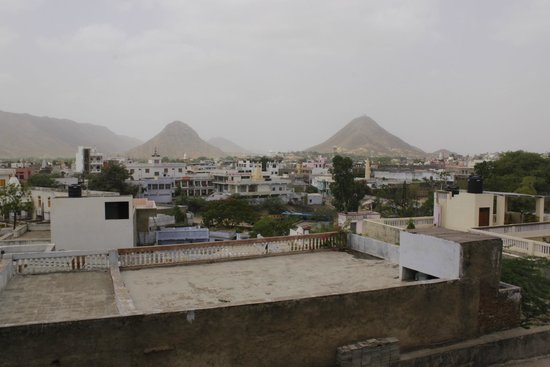 Atithi Guest House Pushkar: The View of Pushkar