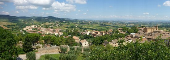 Alessandro Cammilli Private Tours : View from the top of San Gimignano