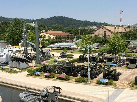 The War Memorial of Korea : military artifacts
