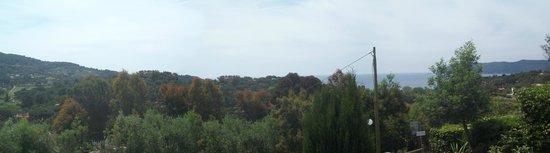 Hotel Villa Giulia: Panorama dalla camera