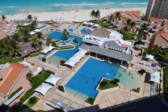 Omni Cancun Resort & Villas: view from Presidential Suite balcony