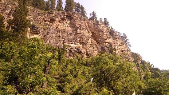 Spearfish Canyon Lodge: Spearfish Canyon