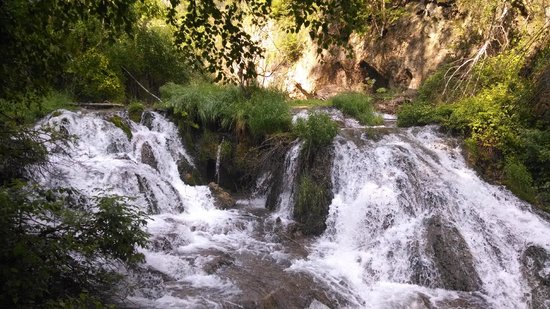 Spearfish Canyon Lodge: Roughlock Falls in Spearfish Canyon