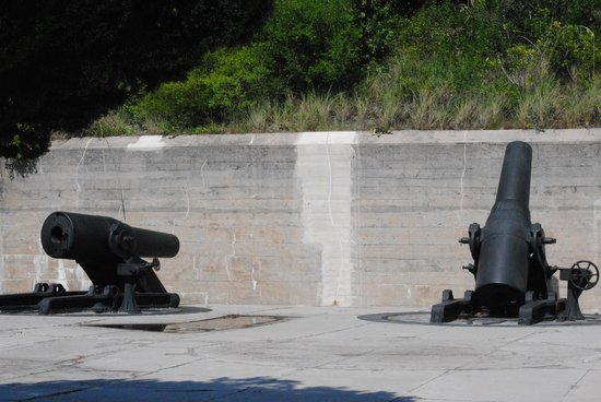 Fort De Soto Park: The guns
