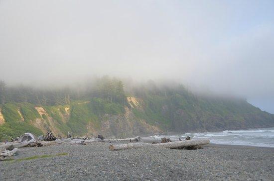Quileute Oceanside Resort : Clouds